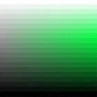 Green Hue in 2D