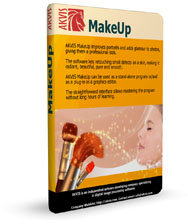 AKVIS MakeUp V.1.0: Improve Skin Appearance and Add Glamour to Portraits!