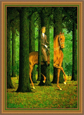 Another frame for Magritte picture