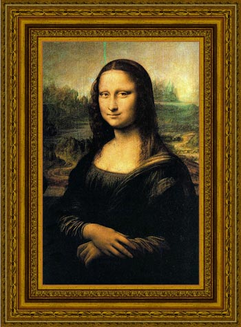 Mona Lisa  with the Classic frame