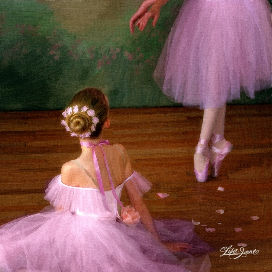 Ballet Dancers: Create An Oil Painting