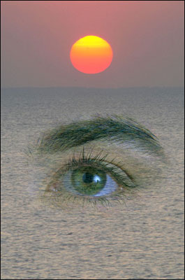 Eye in the sea