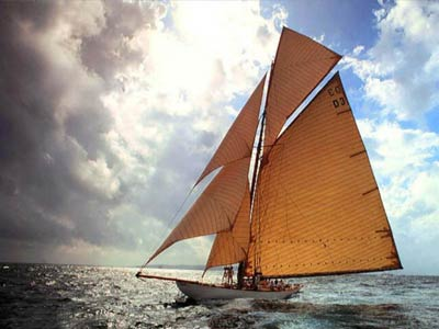 photo of a sailing ship