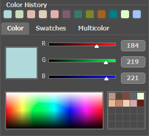 Settings in AKVIS Coloriage