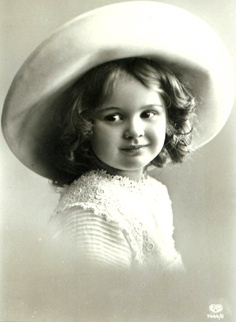 a black and white photo of a girl