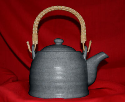 Teapot for the oriental tea ceremony