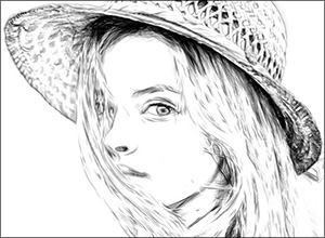 Pencil Drawing Effect Parameters in AKVIS Draw