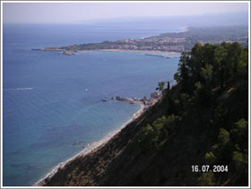 Sicily seascape original