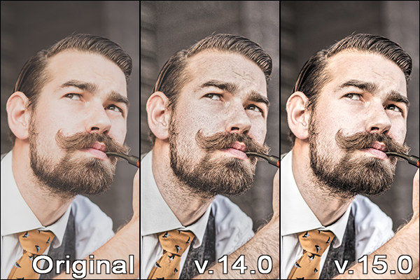 AKVIS Enhancer v.14 vs v.15