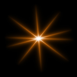 Star Light Star Bright >> Light Beams. Elements for Creating Light Effects in AKVIS LightShop