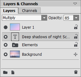 """Layers"" Palette"