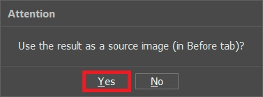Use Result as a Source Image