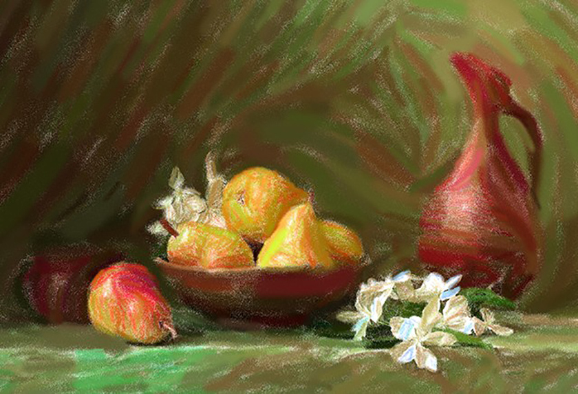 Turn Photos into Pastel Paintings with AKVIS Pastel Software
