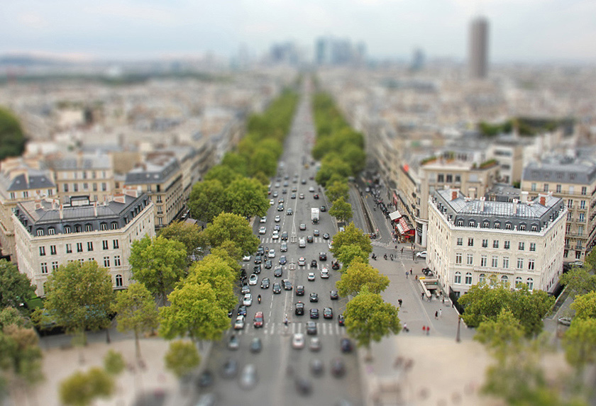 Tilt-Shift Mode