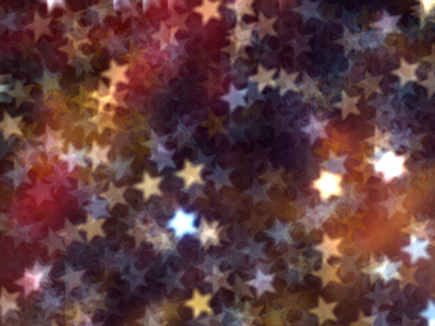 Star-shaped spots of light