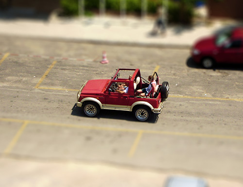Efecto Tilt-Shift