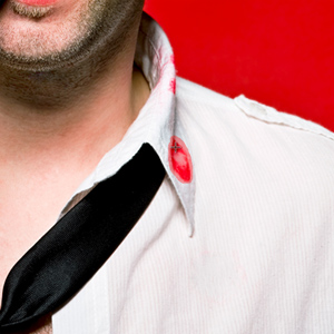 Stain on Shirt Collar (Selected)