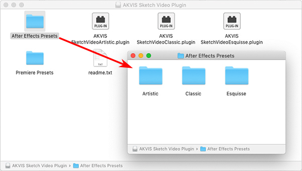 Import Presets on Mac