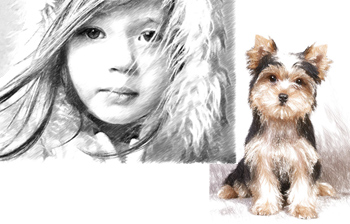 Convert a Photo to a Pencil Sketch