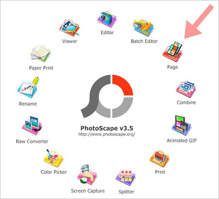 Features of PhotoScape