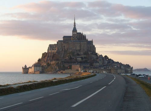 Original Photo: Mount Saint Michel
