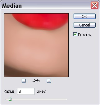 Applying the Median Filter