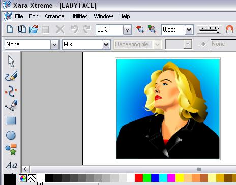 from clip art gallery of Xara Xtrem
