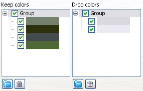 Colors groups