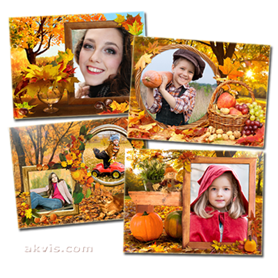 Autumn Frames for ArtSuite