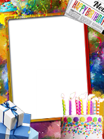 Frames: Happy Birthday