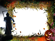 halloween pack akvis picture frames