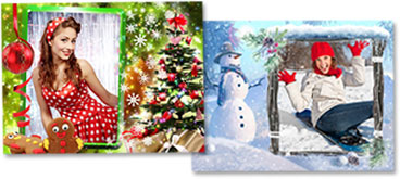 Christmas and Winter Frames