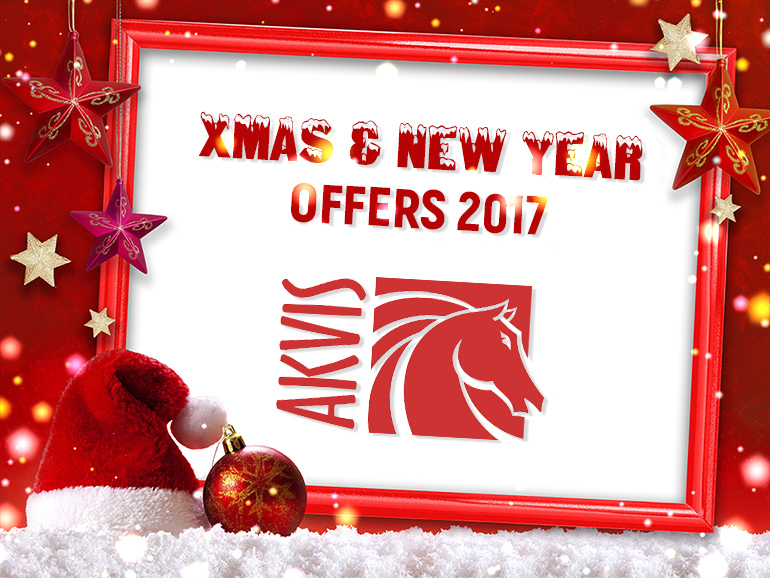 New Year & Christmas Offers by AKVIS
