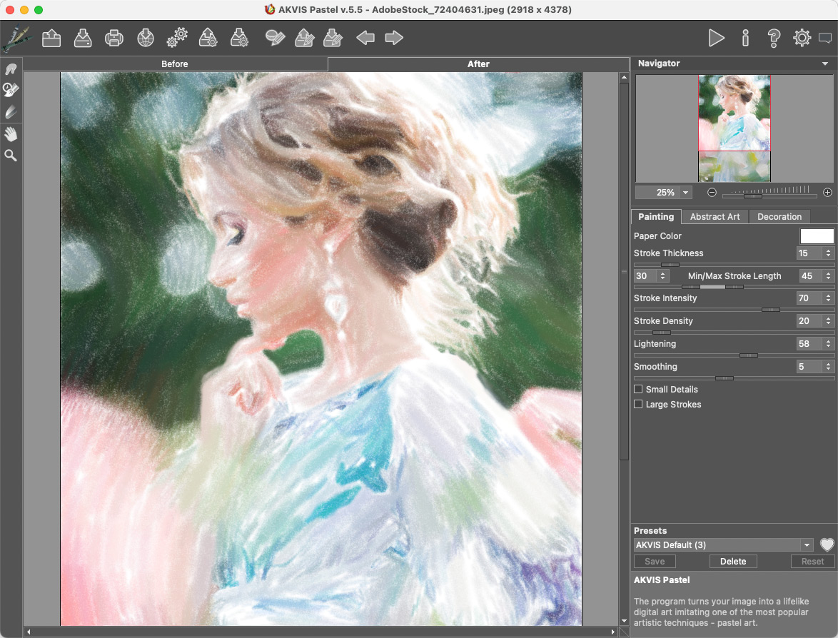 Artistic Filter Effects - AKVIS Graphics Software