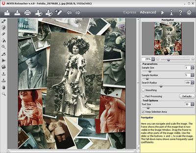 AKVIS Retoucher - Photo Restoration Software