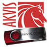 AKVIS Software on USB